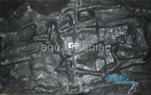 3D grey thin background 57x27cm