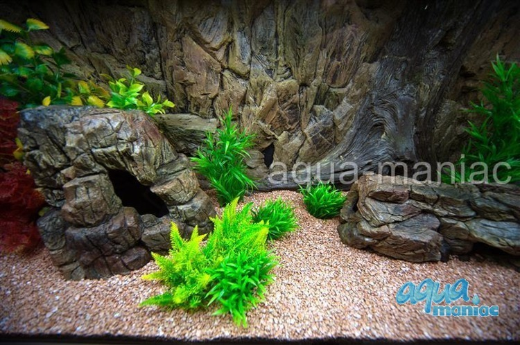 Bundle of long, large and small beige aquarium rocks SAVE £7