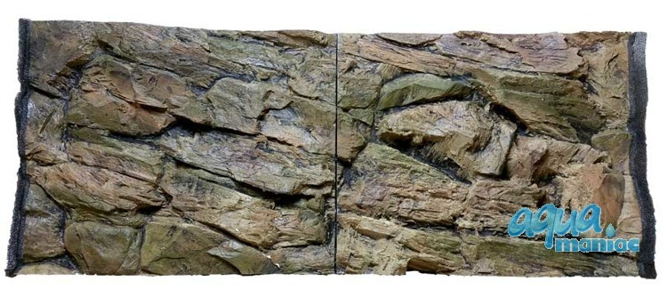 JUWEL RIO 125 3D rock background 78x42cm