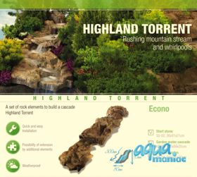 High Land Torrent - water cascade