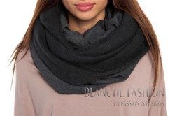 Woman Ladies Warm  Scarve Graphite